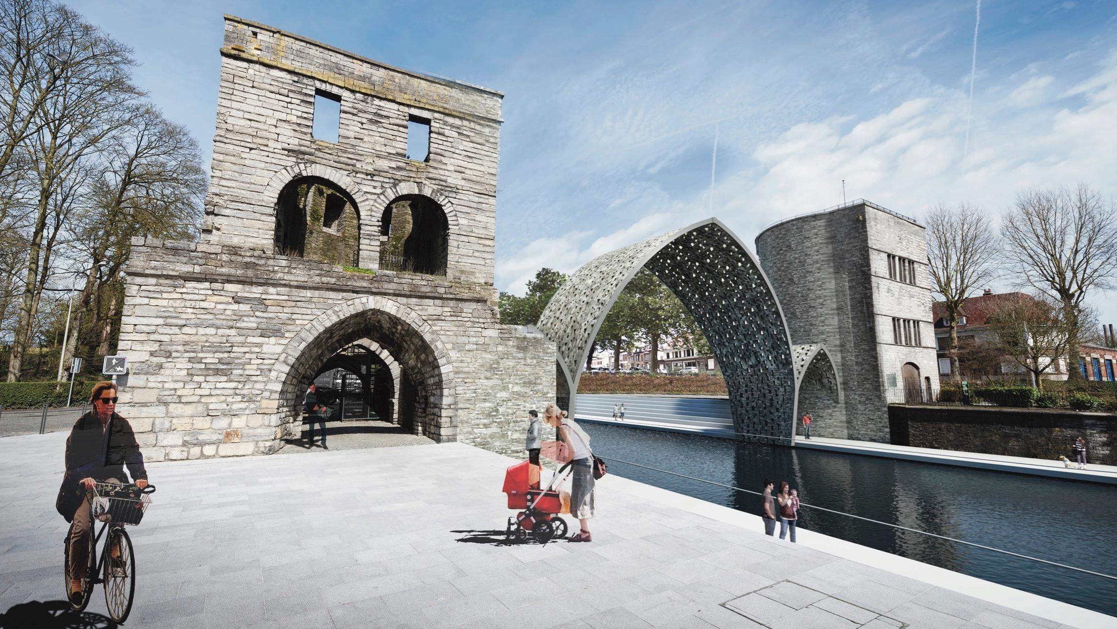 Tournai : voici le futur Pont des Trous