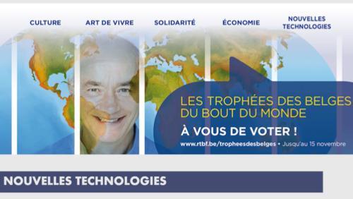 Trophées Les Belges du bout du monde : comment voter?