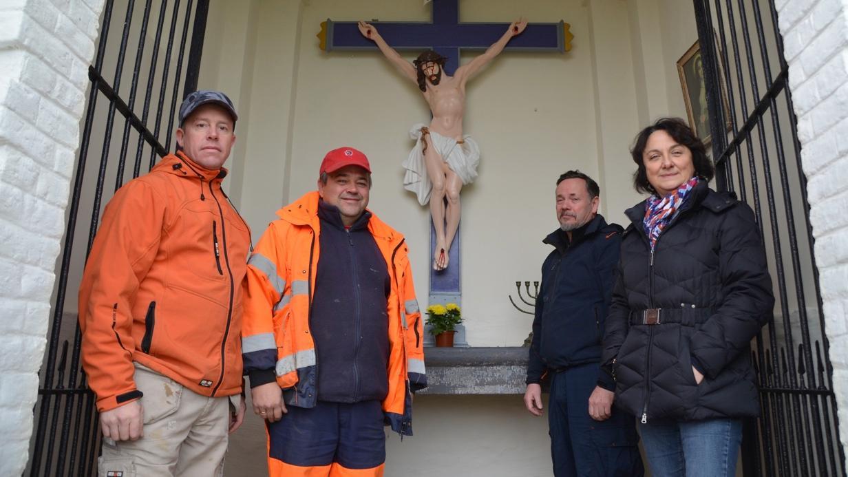 La chapelle de Boutigies est restaurée