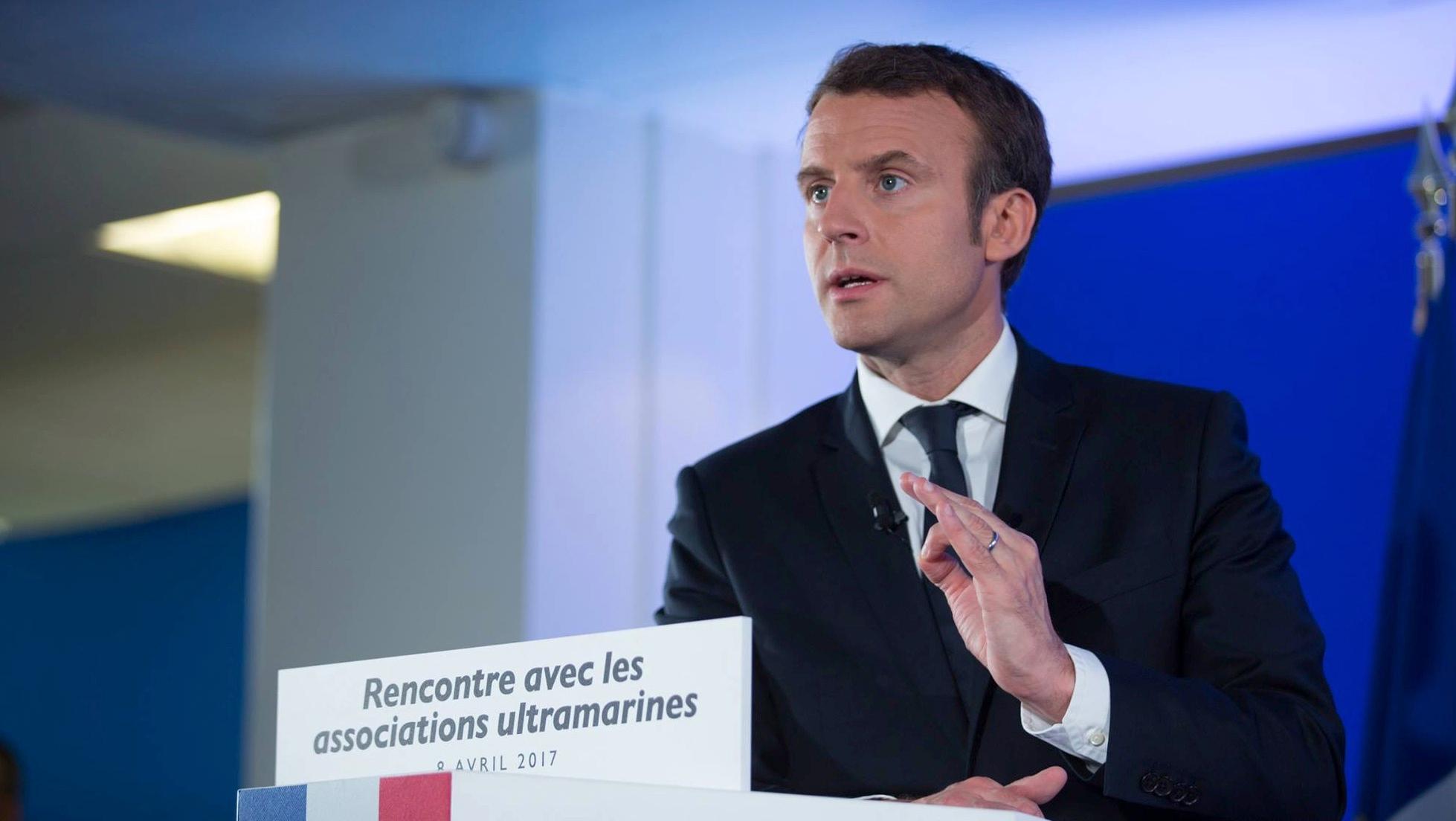 Emmanuel Macron en visite près de chez nous