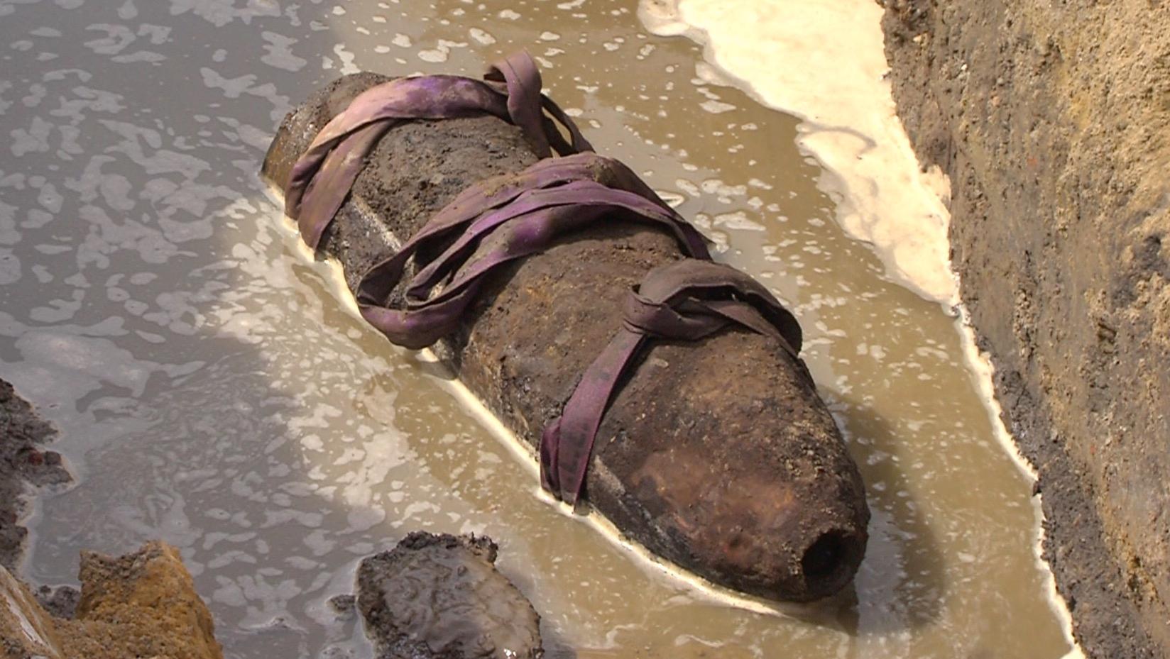 Un obus a été découvert à Beloeil