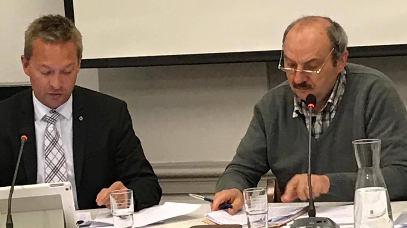 Bruno Lefebvre ne présidera plus le conseil communal