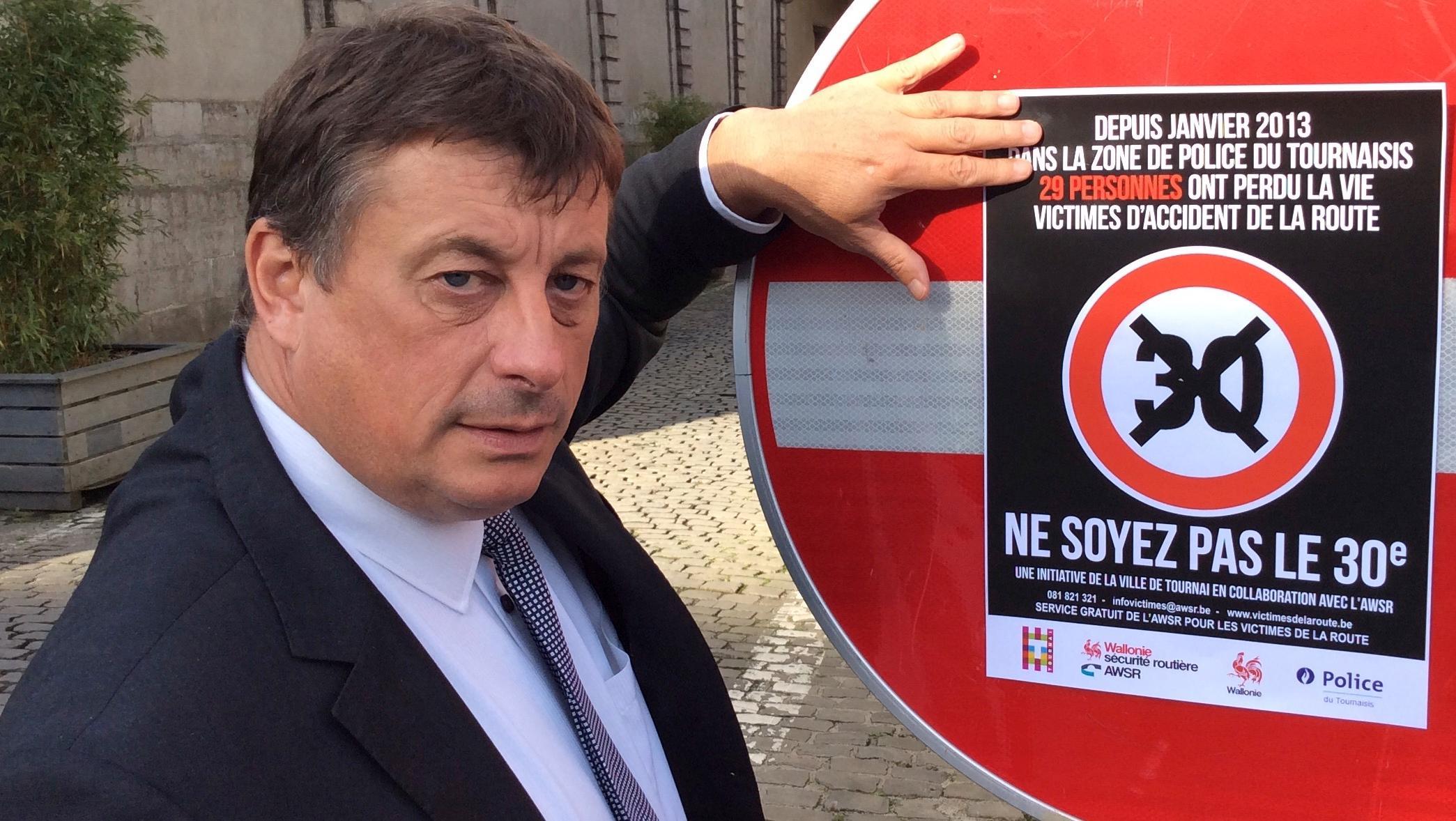 Ne soyez pas le 30ème mort sur les routes du Tournaisis