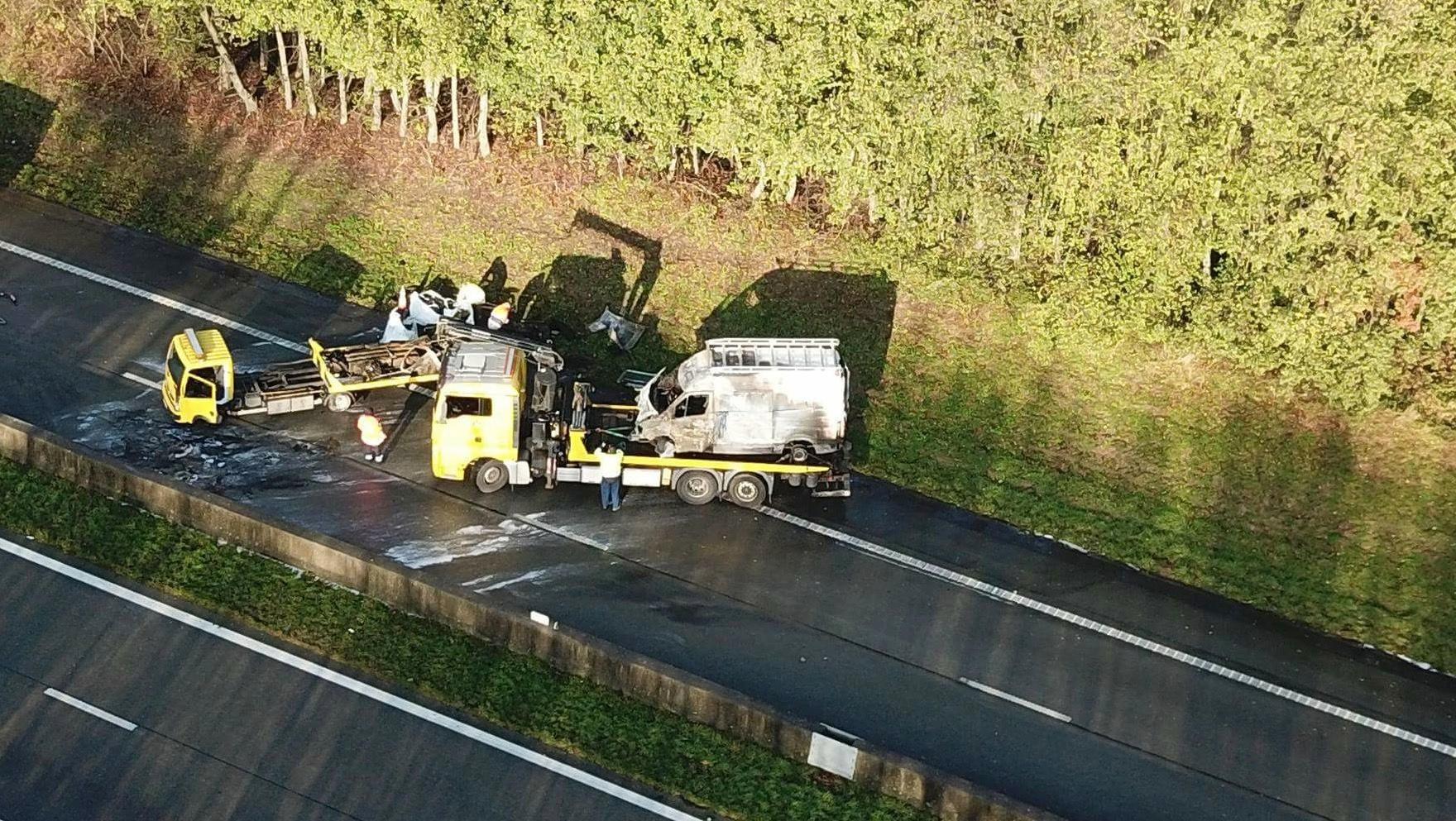 Accident mortel sur l'A8: le conducteur fantôme s'est suicidé