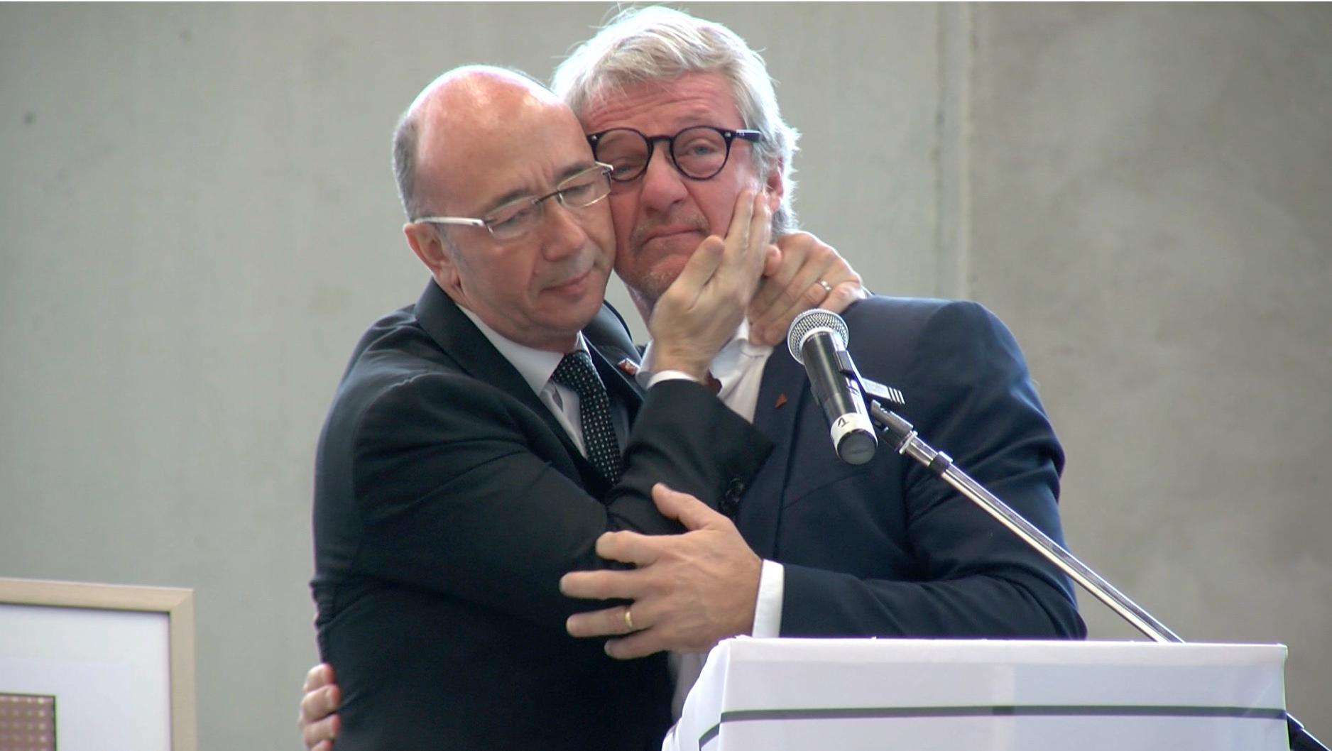 Rudy Demotte et Philippe Mettens se sont réconciliés