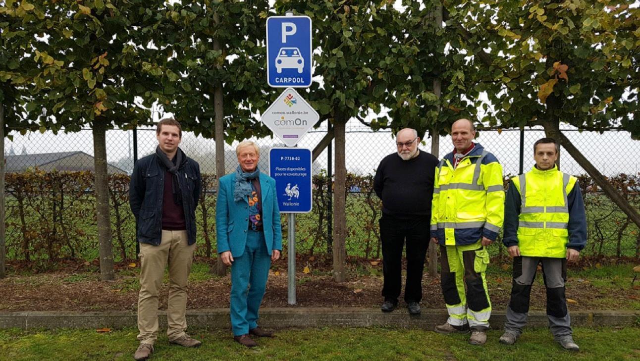 10 places de parking sont désormais dédiées au covoiturage