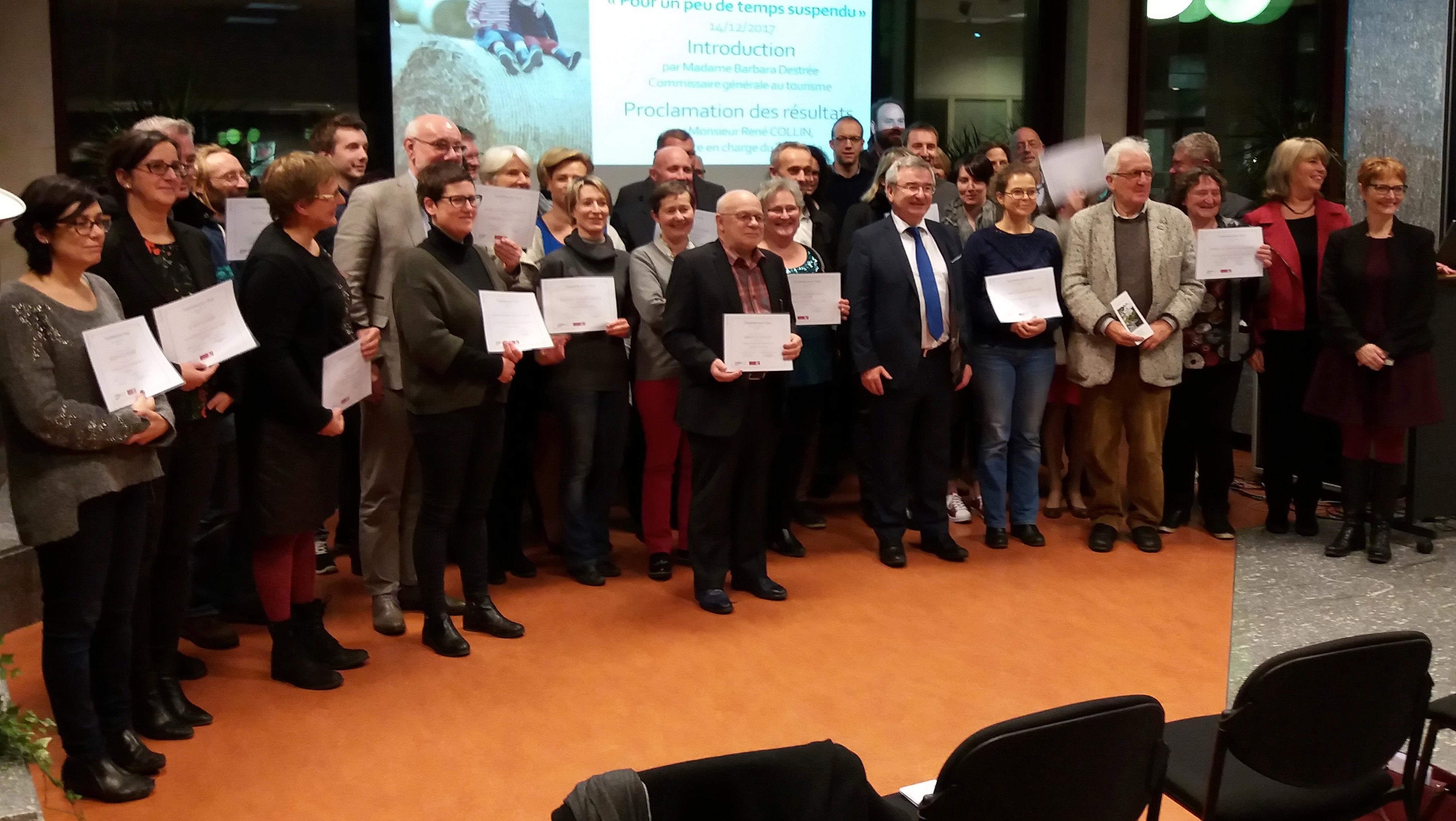Renforcement de l'accessibilité au tourisme: 3 lauréats en Wallonie picarde