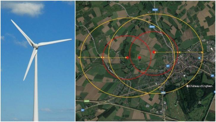 Les plus grandes éoliennes de Belgique près d'Enghien?
