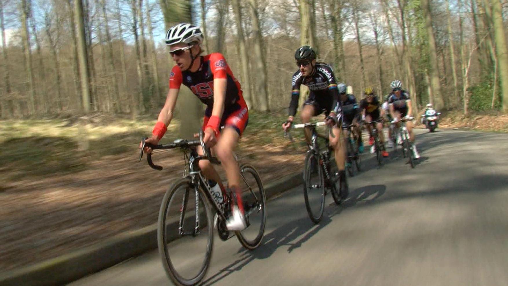 Le Triptyque des Monts et Châteaux, gratin des futurs cyclistes pro