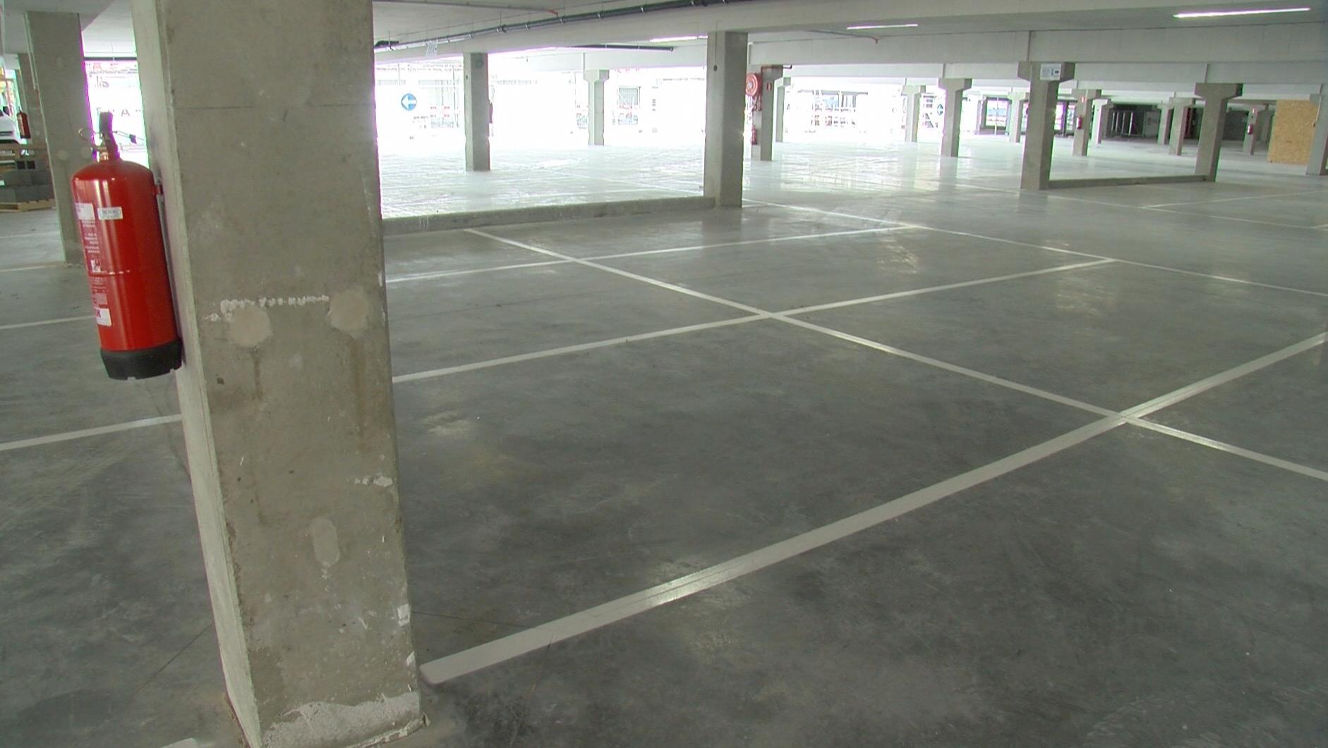 Parking souterrain des Bastions: 200 nouvelles places disponibles le 24 mars