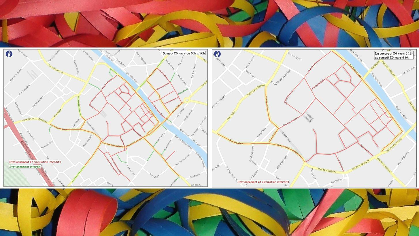 Carnaval : voici où il sera interdit de circuler et de se garer
