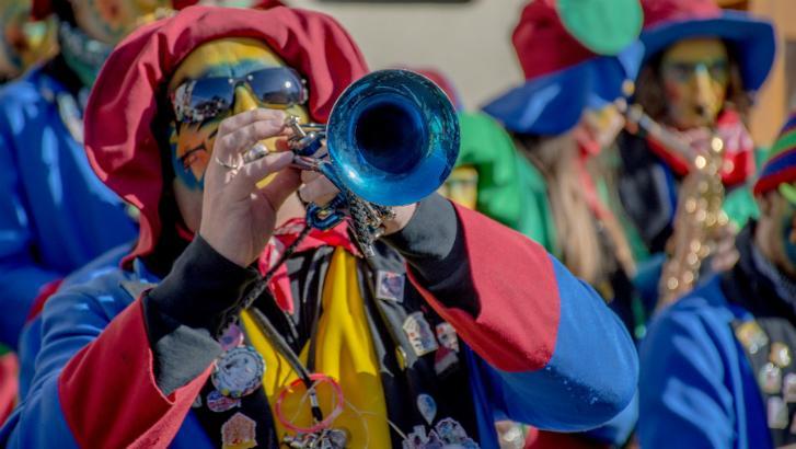 68 secouristes Croix-Rouge au carnaval de Tournai