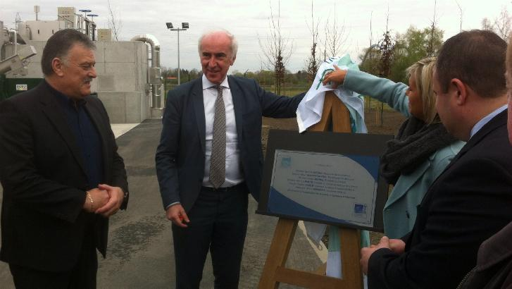 La station d'épuration d'Harchies-Pommeroeul inaugurée