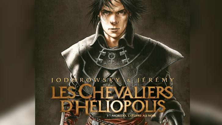 Jérémy signe une BD avec Jodorowsky