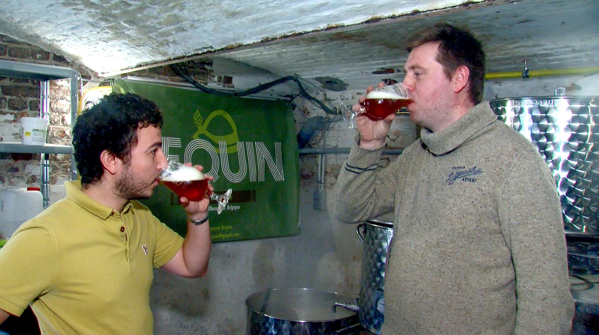 La Béquin, la nouvelle bière made in Mouscron
