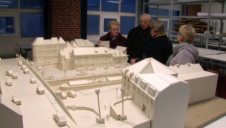 Les voisins de Saint-Luc impressionnés par le nouveau bâtiment