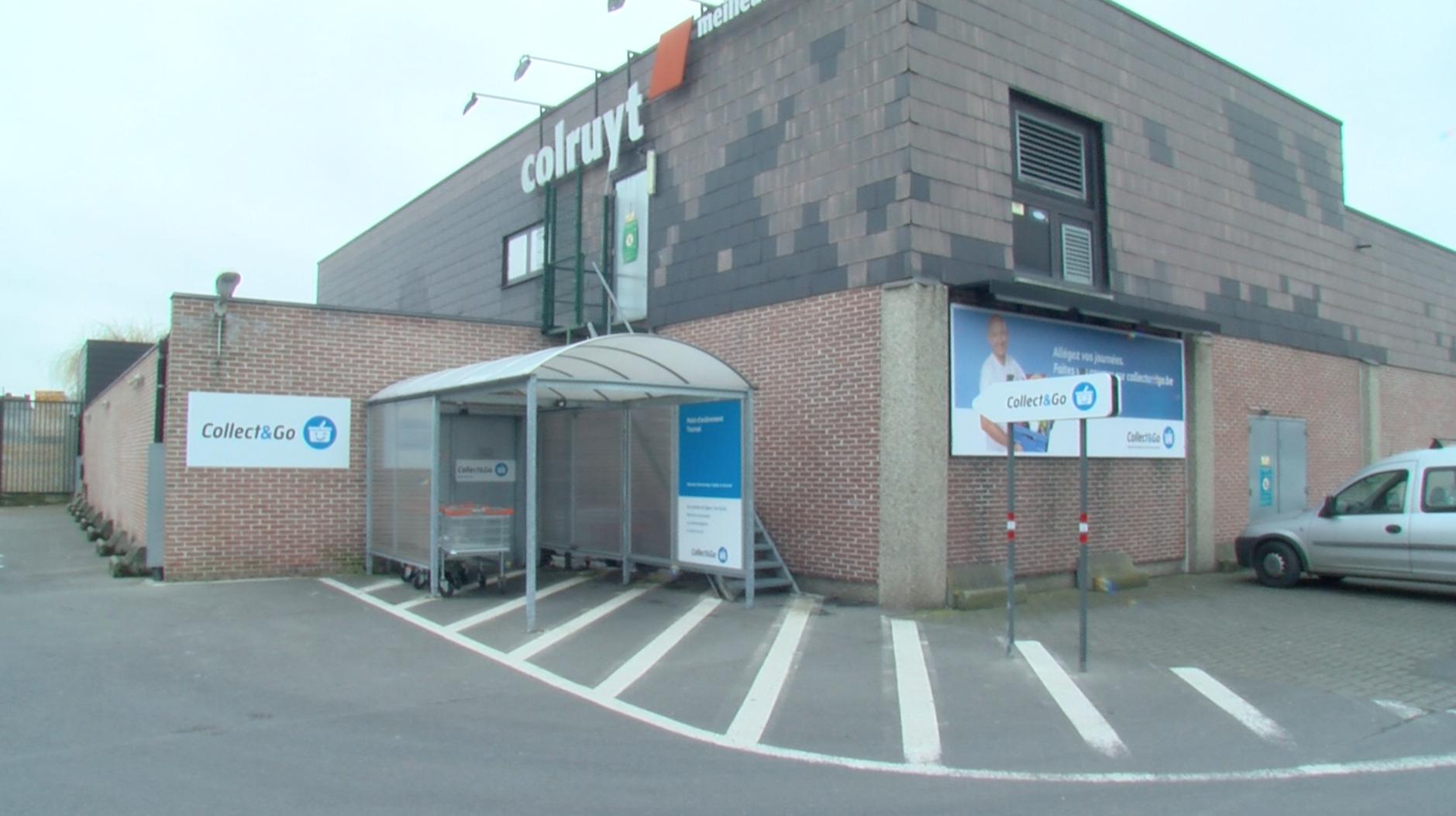 Le nouveau Colruyt à la chaussée de Renaix construit en 2019