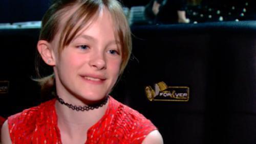 La jeune Mouscronnoise Fantine Harduin au Festival de Cannes