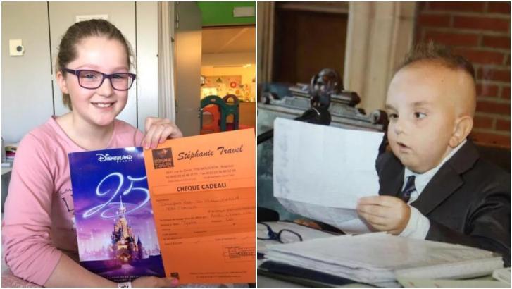 Deux enfants à Disneyland grâce à l'asbl Chiara VDS