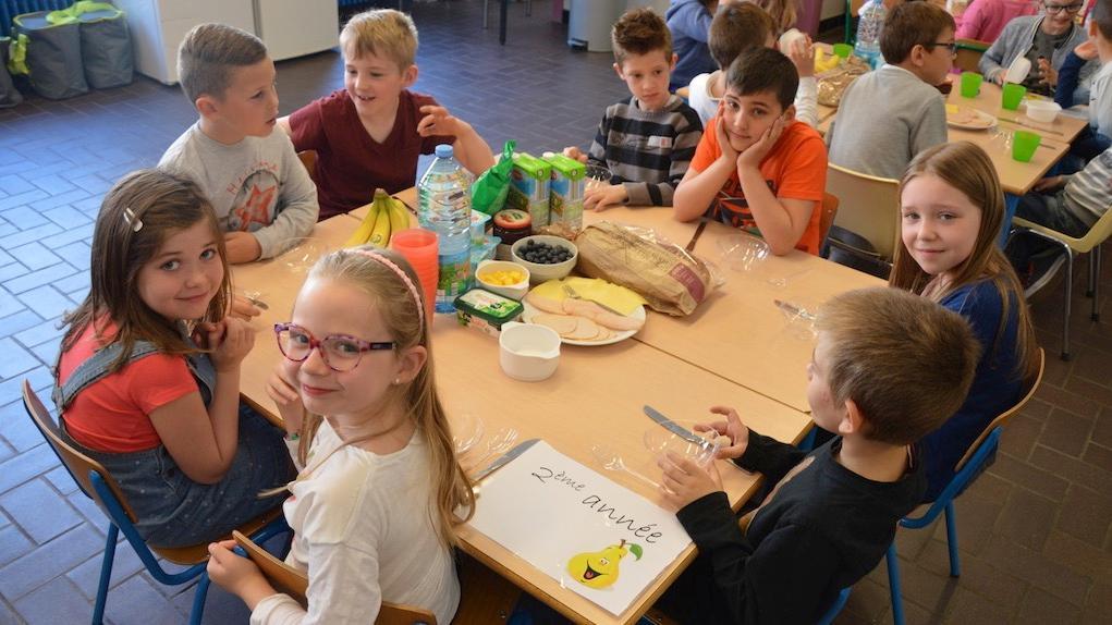 Les élèves de l'école communale de Luingne ont remporté un déjeuner géant