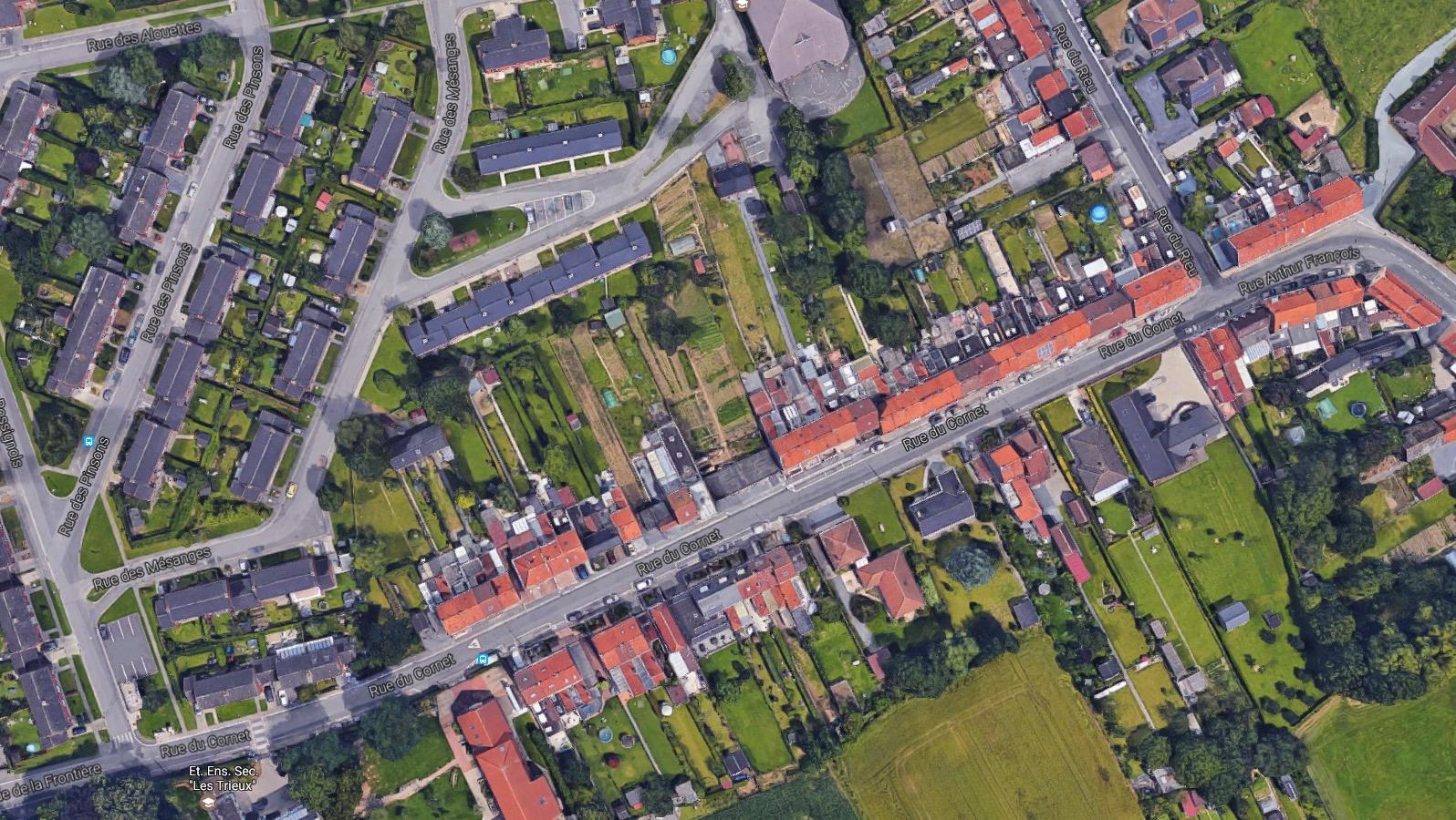Des travaux prévus à la rue du Cornet et la Maison du Canal