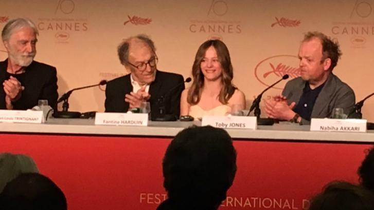 C'est le grand jour pour Fantine Harduin au Festival de Cannes