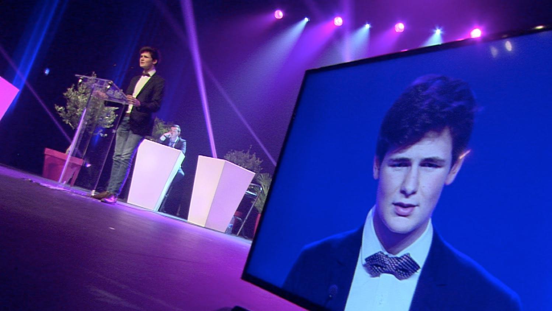 Henry Maes remporte le tournoi d'éloquence 2017