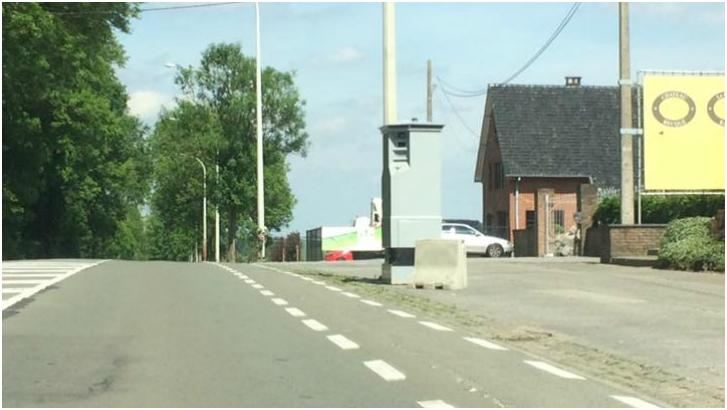 Un LIDAR installé chaussée de Bruxelles