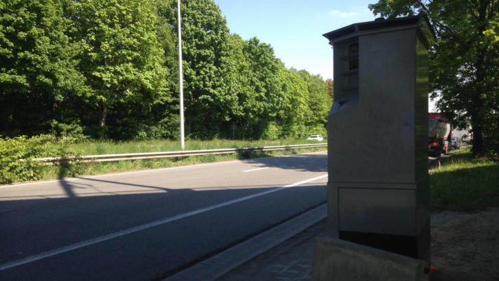 Le lidar déplacé sur la route express