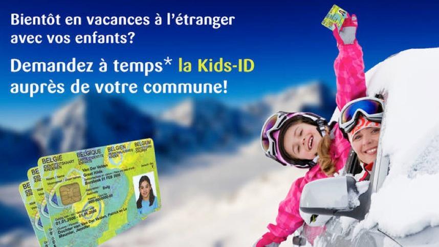 Vos enfants partent en vacances? Ne trainez pas avant de commander la Kids-ID