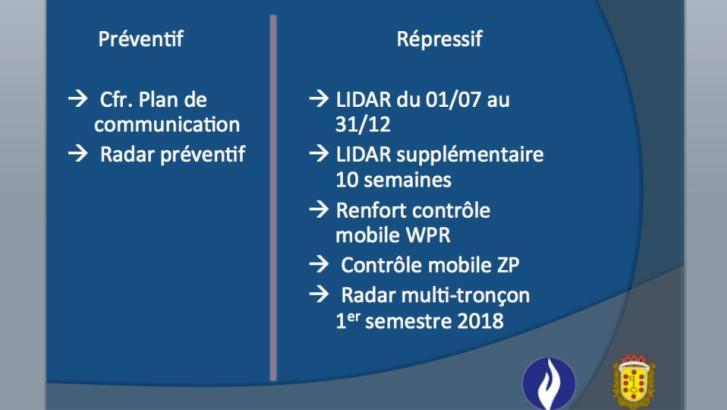"""RN58A de 120 à  90 km/h : des LIDAR puis des radars """"multi-tronçons"""""""