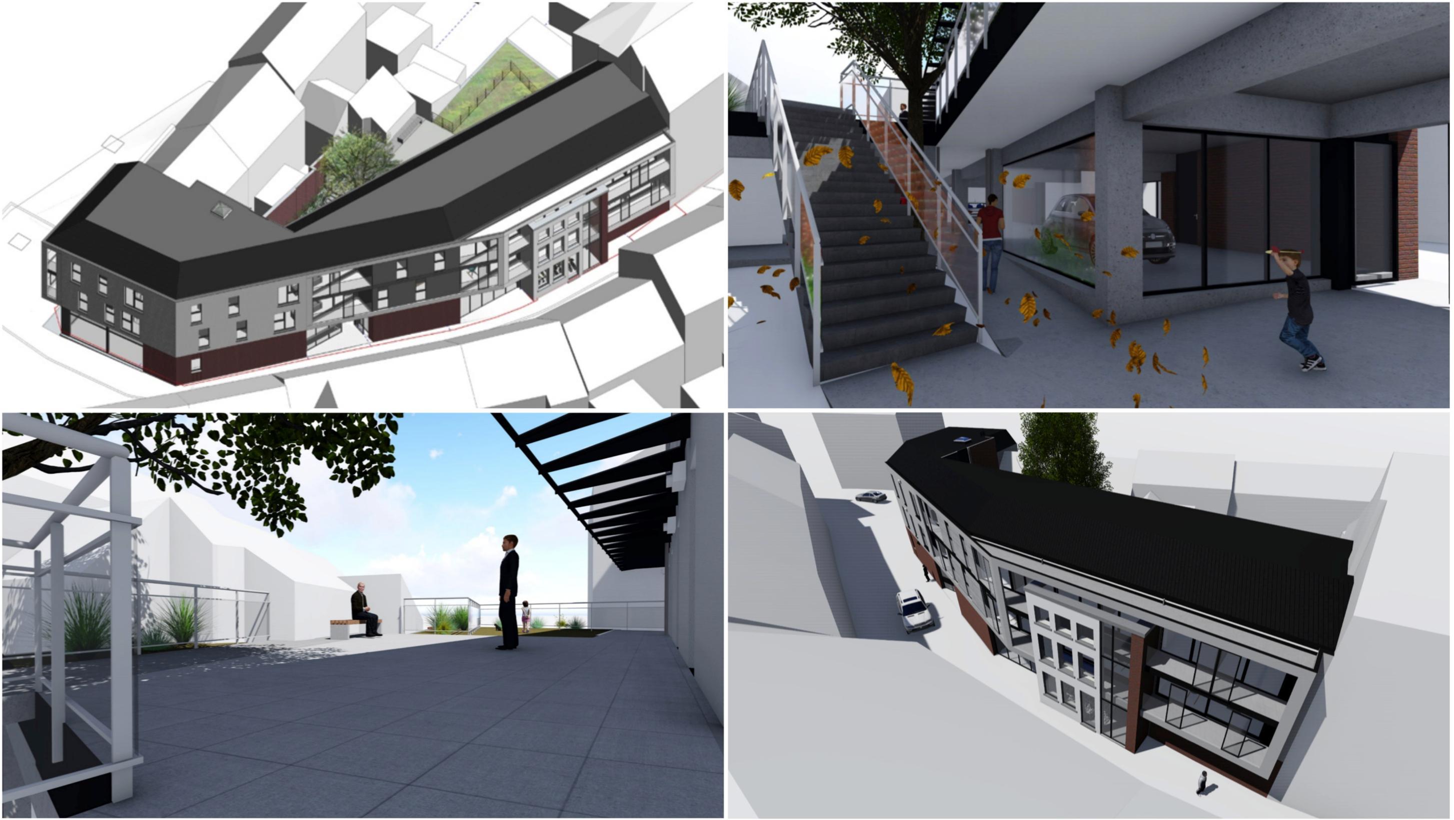 La commune va construire 7 logements et 1 magasin pour redorer l'image du centre