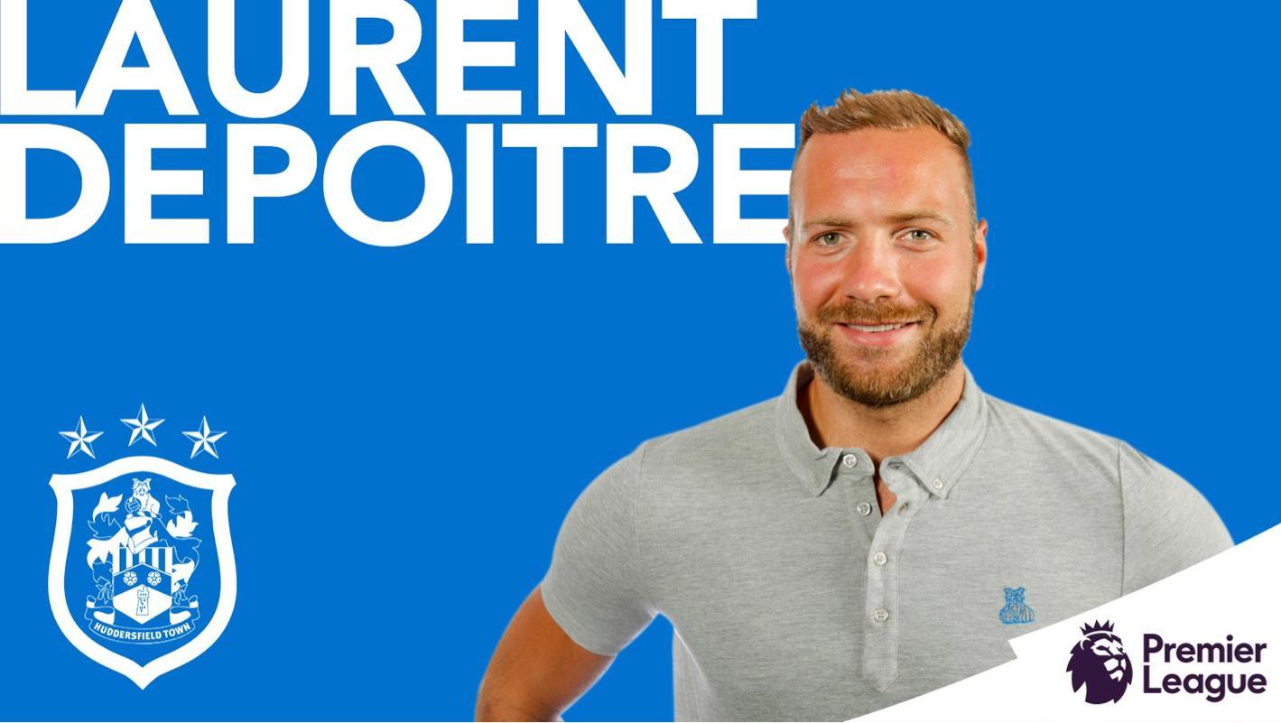 OFFICIEL - Laurent Depoitre signe à Huddersfield Town
