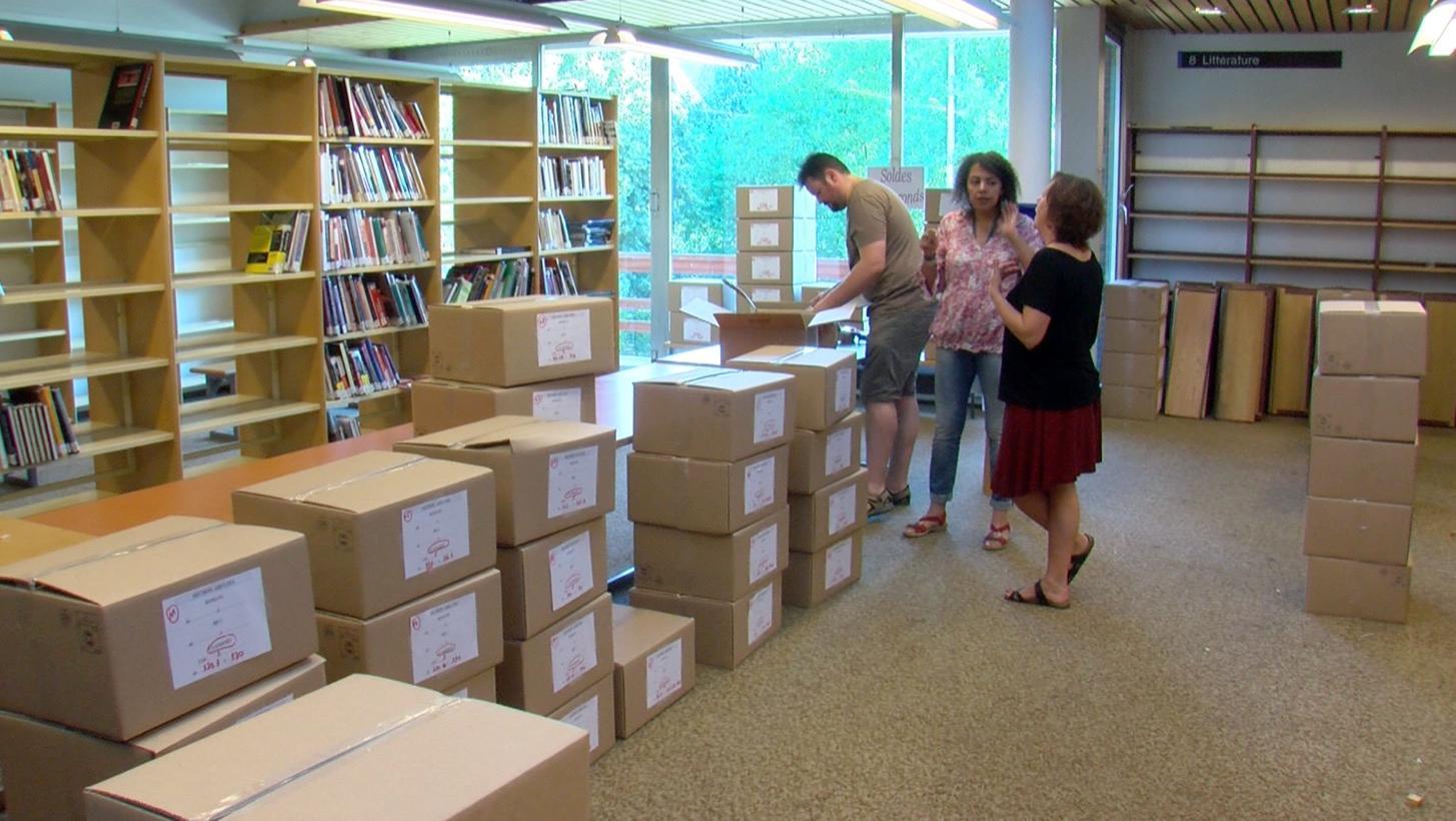 La bibliothèque de Tournai souffre de son déménagement au stade Luc Varenne