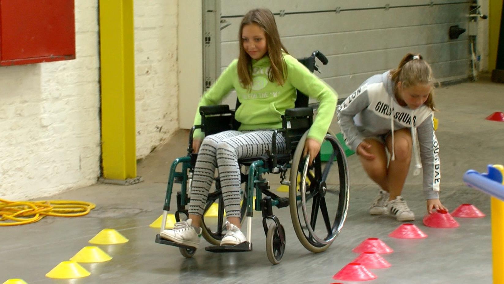 Une matinée de sensibilisation au handicap au Centr'Expo à Mouscron