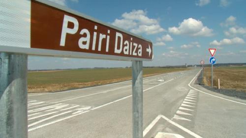 Le projet d'accès Nord à Pairi Daiza validé
