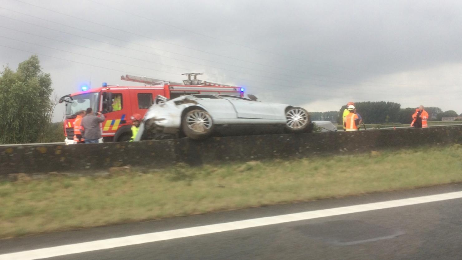 Accident sur l'A17 Mouscron-Tournai: une personne emmenée à l'hôpital