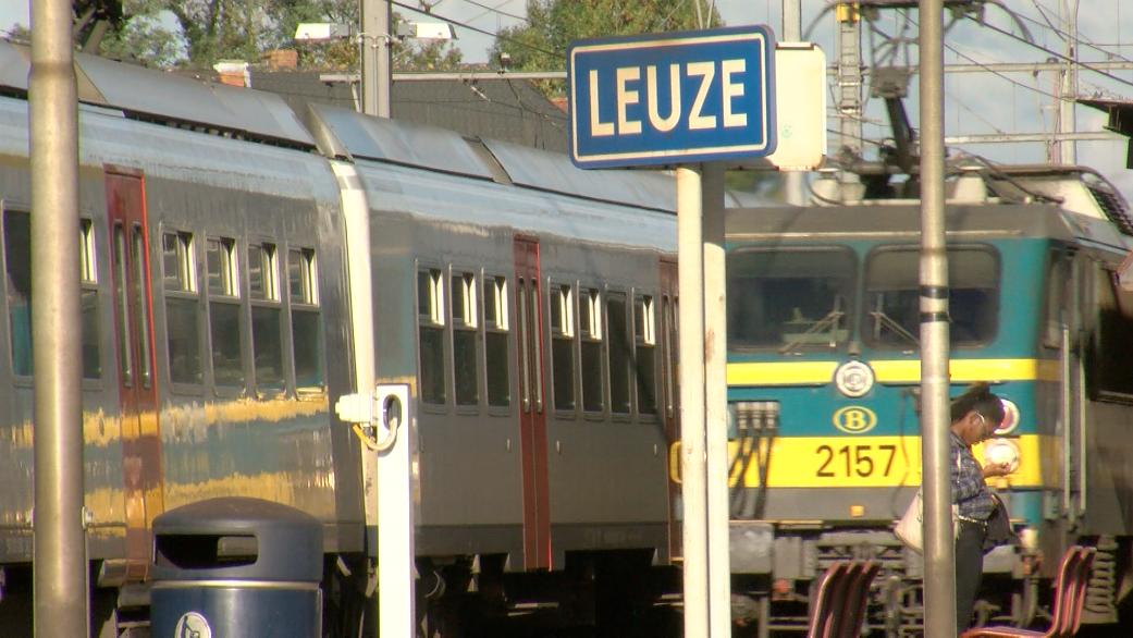 4,6 millions pour moderniser les rails de la gare de Leuze