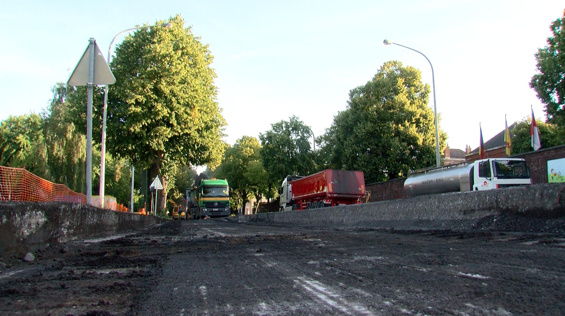 Fuite de gaz dans le chantier du carrefour Marvis