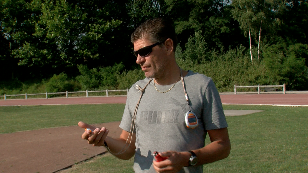 Alain Lignier, coach de Pierre-Ambroise Bosse, entraîne à la RUSTA