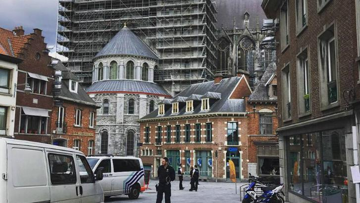 L'homme à l'origine de l'évacuation de la cathédrale de Tournai a été libéré