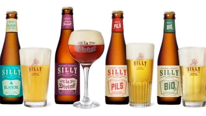 Nouveau look pour certaines des bières de la brasserie de Silly