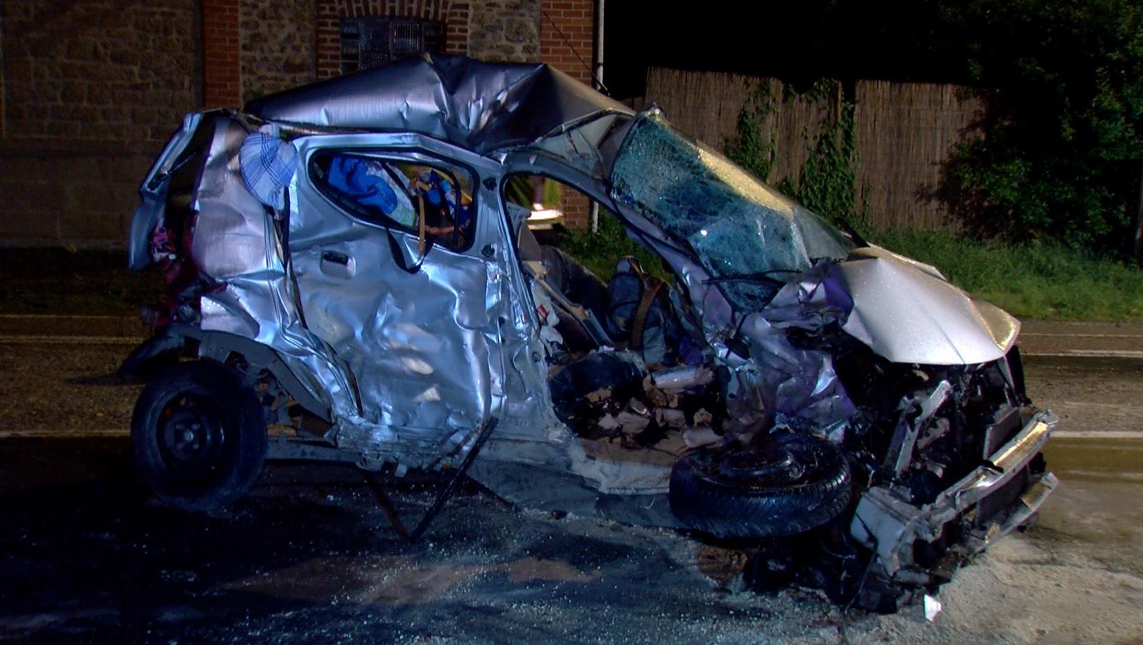 Une femme décède dans un accident de la route