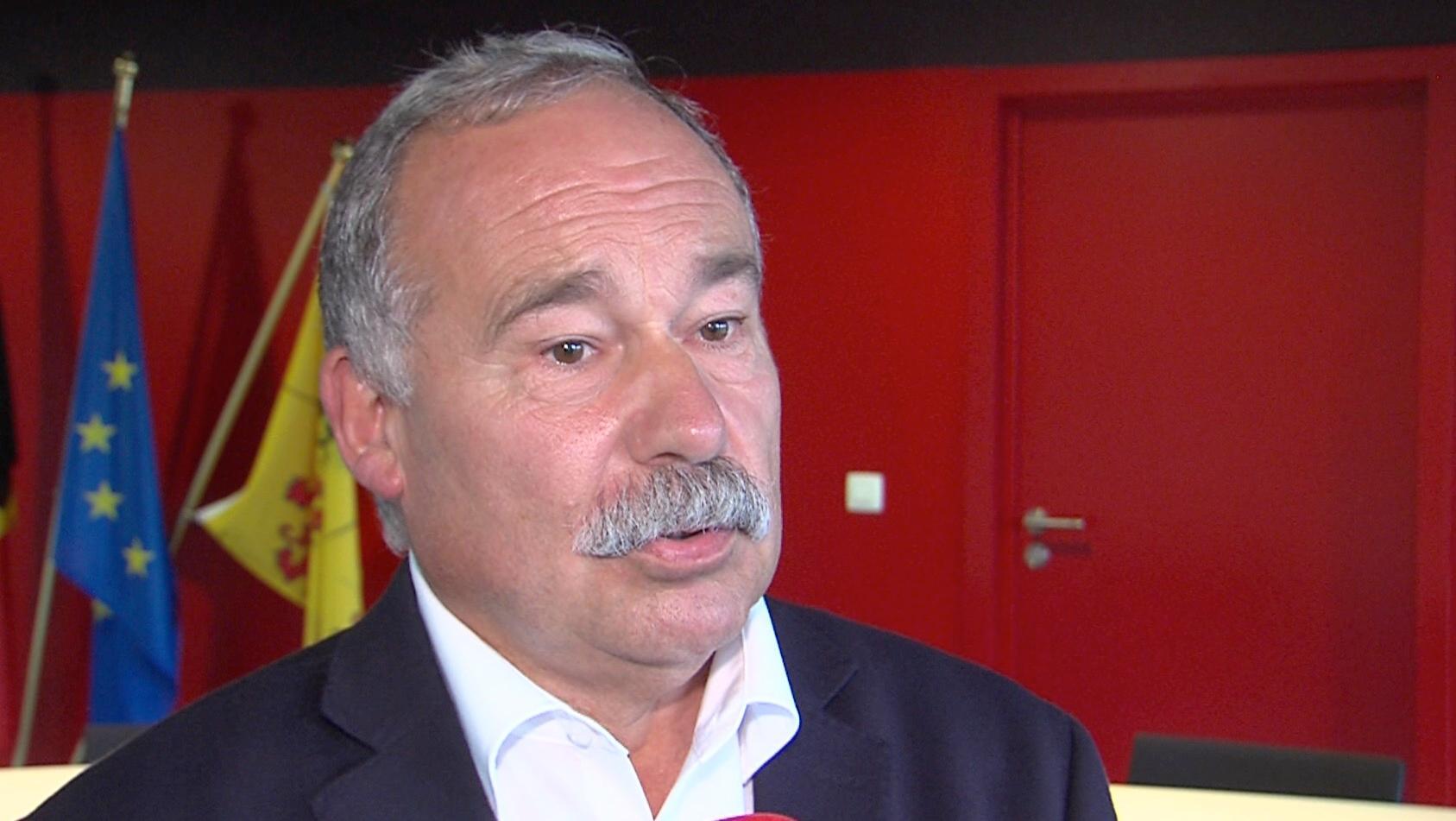 Bernard Bauwens, tête de liste PS aux prochaines élections communales