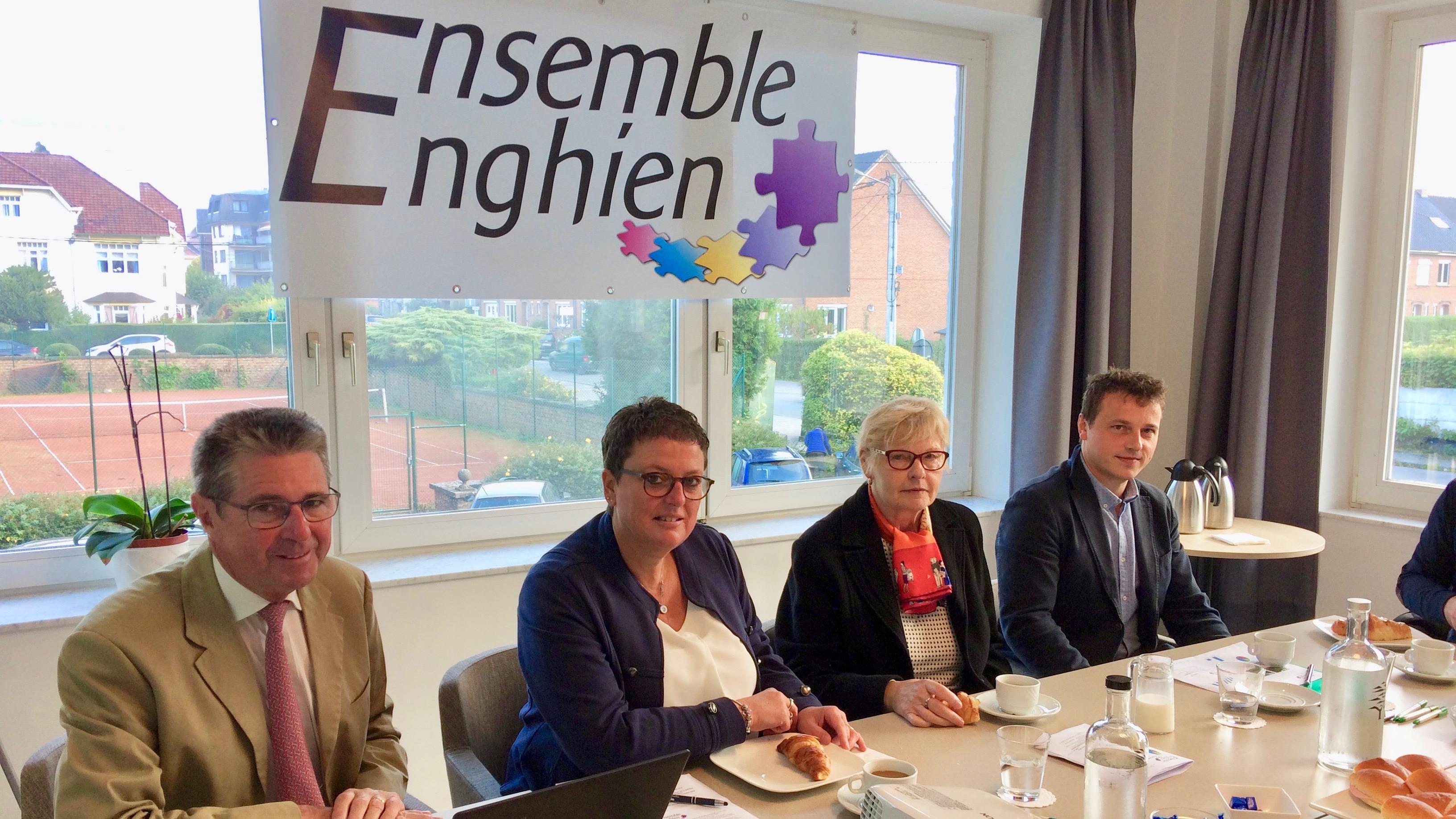 « Ensemble cdH » devient « Ensemble Enghien »