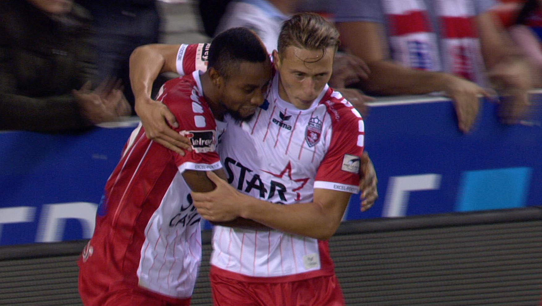 L'Excel Mouscron s'offre Bruges 2-1 !
