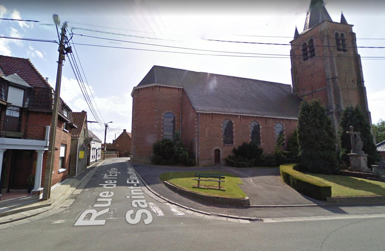 Circulation interdite à la rue de l'Eglise St-Éleuthère