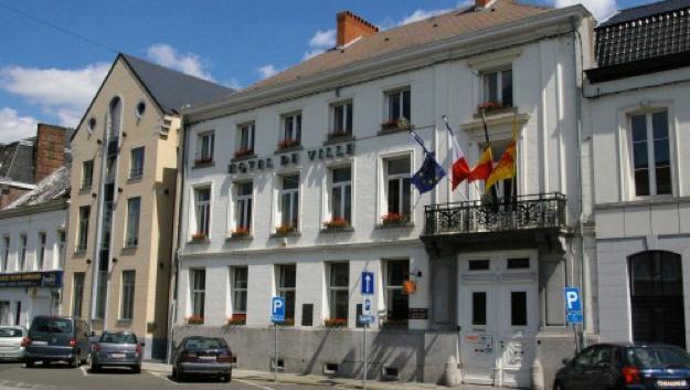 L'hôtel de ville de Péruwelz fermé ce lundi