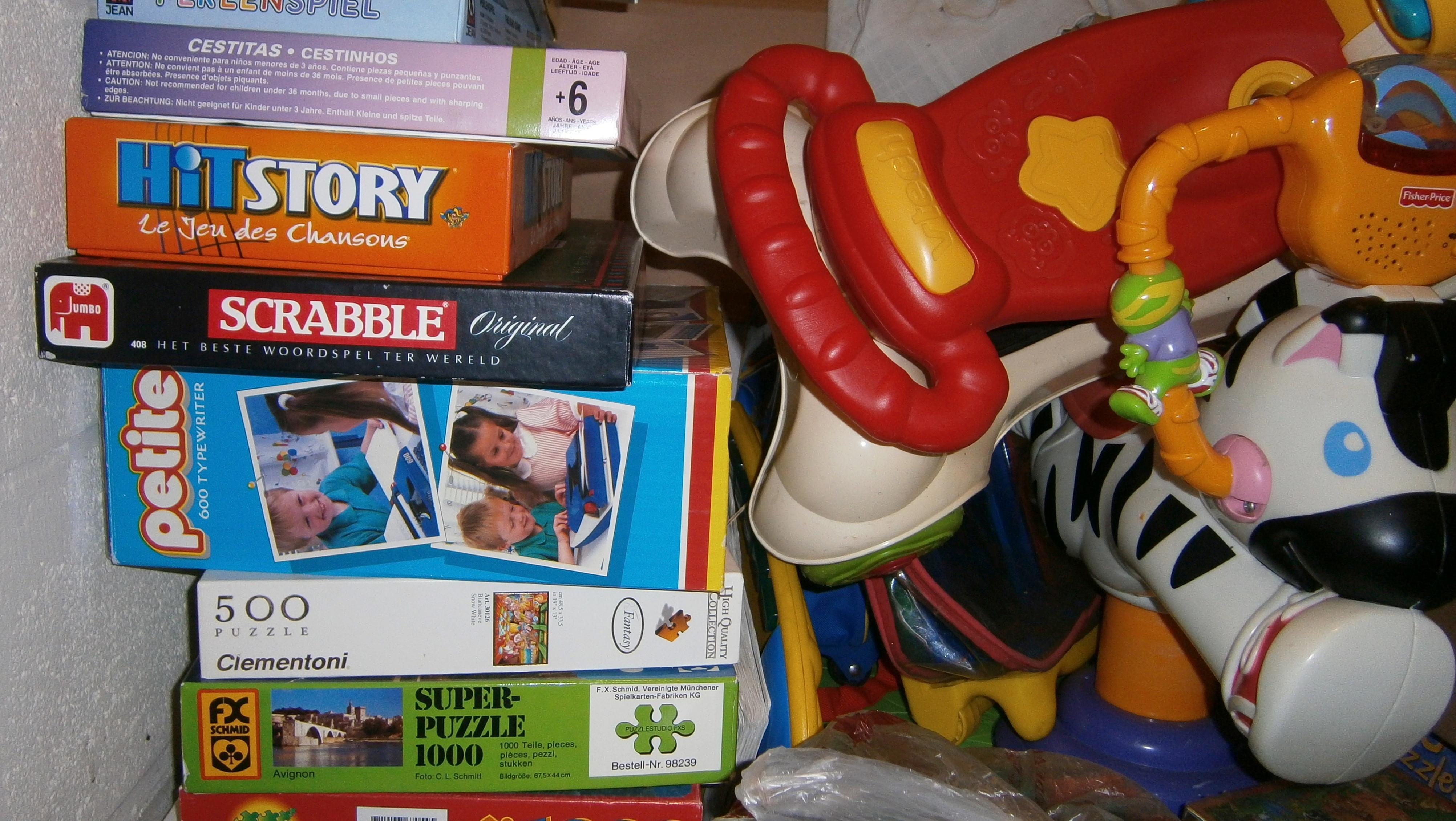 5.280 jouets récoltés dans les recyparcs