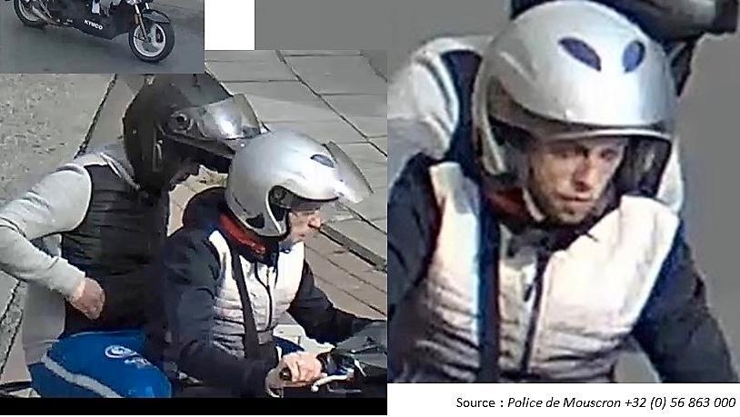 Vol à l'arraché rue de la Station: reconnaissez-vous ces individus?